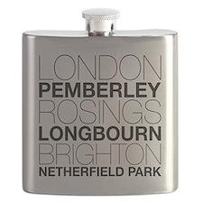 Pride and Prejudice Locations Flask
