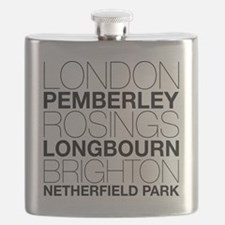 Pride and Prejudice Locations Flask