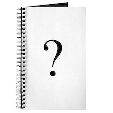 Unknown gender question mark Journal