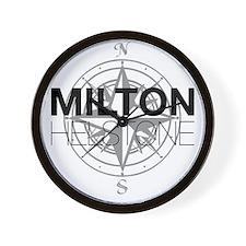 Milton and Helstone Wall Clock