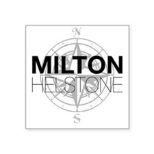 "Milton and Helstone Square Sticker 3"" x 3"""
