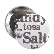 "Sandy Toes Salty Kisses 2.25"" Button"