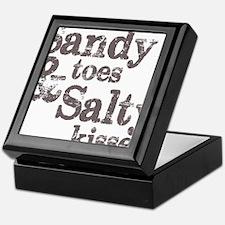 Sandy Toes Salty Kisses Keepsake Box