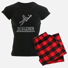 Chicks With Sticks Lacrosse Pajamas