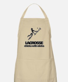 Chicks With Sticks Lacrosse Apron