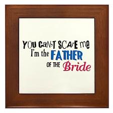 Father of the Bride Framed Tile