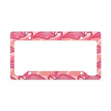 pinkflamingo_6200 License Plate Holder