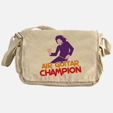 Air Guitar CHAMPION! Messenger Bag