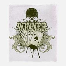 Winner Throw Blanket