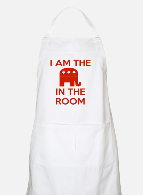 I Am the Elephant in the Room Apron
