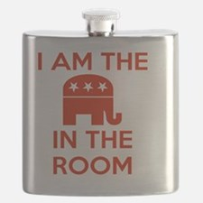 I Am the Elephant in the Room Flask