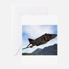 F-4 Greeting Cards