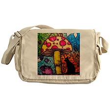 Mushroom Dream Messenger Bag