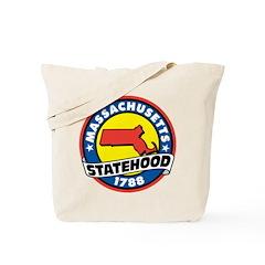 Massachusetts Statehood Tote Bag