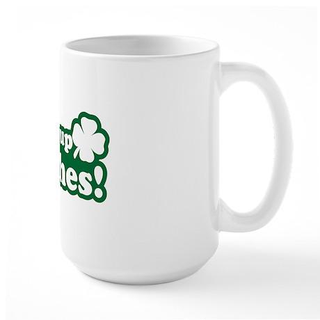 Drink Up Large Mug