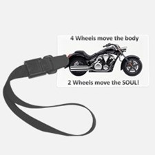 Biker Quote Luggage Tag