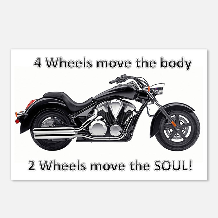 Biker Quote Postcards (Package of 8)