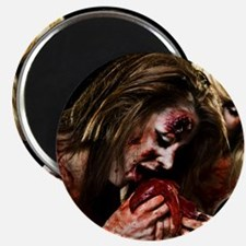 Crazy Zombie Girls Magnet