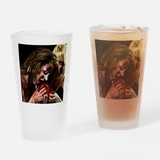 Crazy Zombie Girls Drinking Glass
