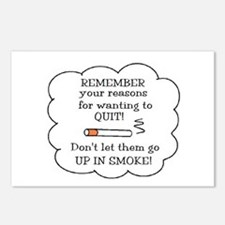 REASONS TO QUIT UP IN SMOKE Postcards (Package of