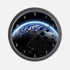 te_wooden  Wall Clock
