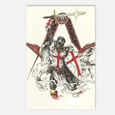 Knights Templar Postcards (Package of 8)
