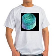 Colored scanning electron micrograph T-Shirt