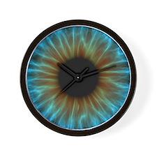 Eye, iris Wall Clock