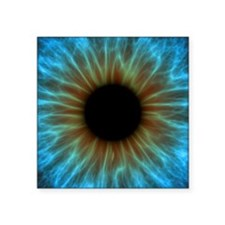 "Eye, iris Square Sticker 3"" x 3"""