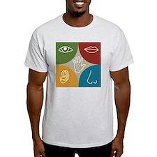 Five sensory organs T-Shirt