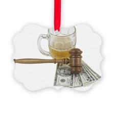 Gavel, Money Ornament