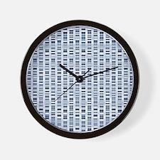 DNA sequences Wall Clock