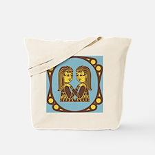 Gemini Zodiac Symbol Tote Bag