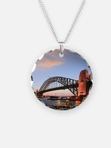 Sydney Harbour Bridge Twilig Necklace