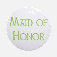 Sherbet Maid of Honor Ornament (Round)