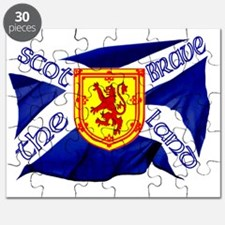 Scotland the brave flag Puzzle