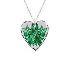 I Wear Green for my Daughter Necklace