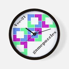 VEE-21 gamepuzzles Wall Clock