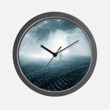 The lost planet Wall Clock