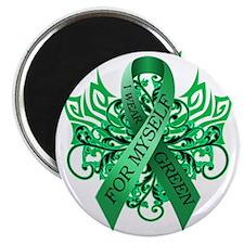 I Wear Green for Myself Magnet