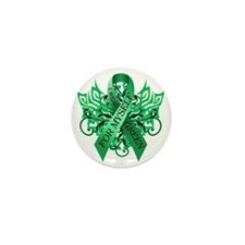 I Wear Green for Myself Mini Button