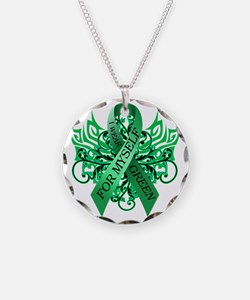 I Wear Green for Myself Necklace