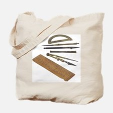 Instruments of measurement Tote Bag