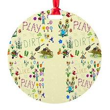 gardening flip flops Ornament