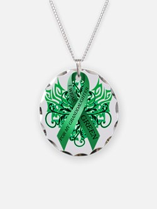 I Wear Green for my Granddau Necklace
