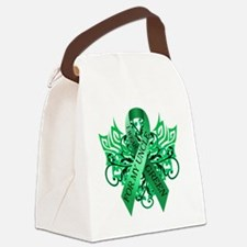 I Wear Green for my Uncle Canvas Lunch Bag