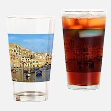 Saint Julian's Bay in Malta Drinking Glass
