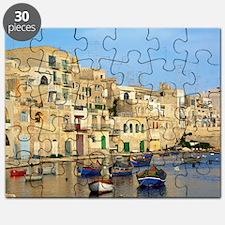 Saint Julian's Bay in Malta Puzzle