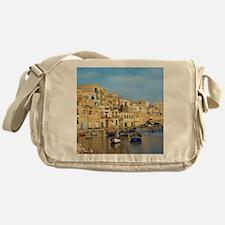 Saint Julian's Bay in Malta Messenger Bag