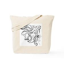 hair style Tote Bag